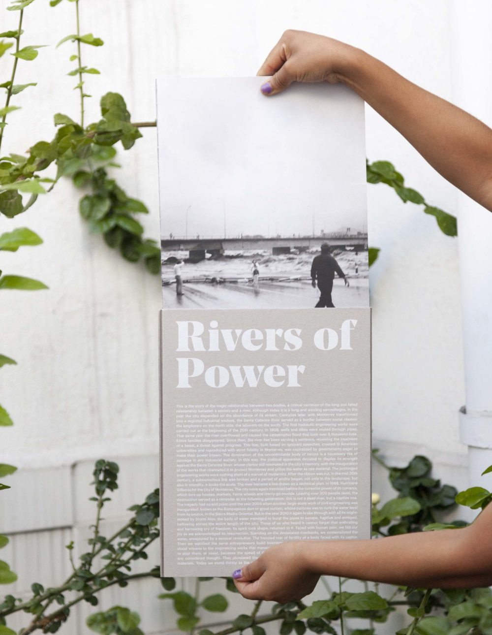 Rivers of Power Book by Alejandro Cartagena, Published 2016 by Studio Cartagena, NEWWER