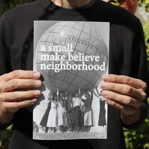 A Small Make Believe Neighborhood by Alejandro Cartagena