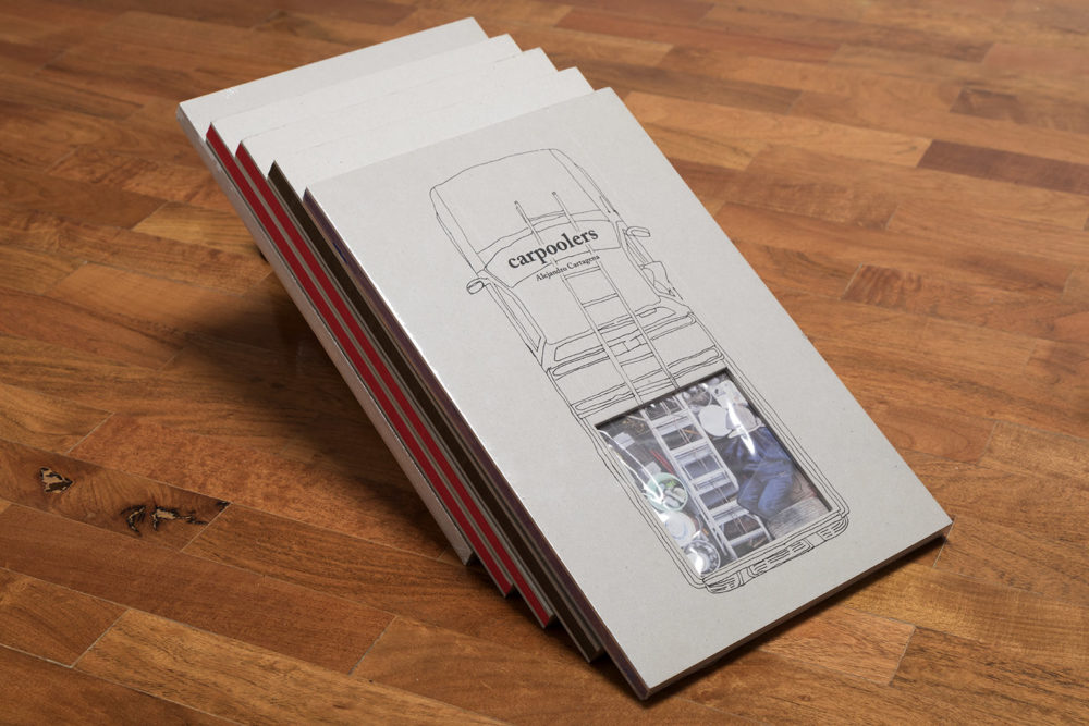 Carpoolers Discarded-Collages Book by Alejandro Cartagena, Published 2014 by Studio Cartagena